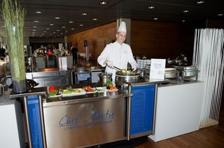 Chef Partie Birngruber Gastronomie Buffet Station Ferry Porsche Congress Center